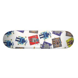 Mechanical Robot Cartoon Skate Deck