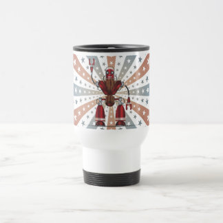 Mechanical Robot Cartoon Travel Mug