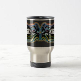 Mechanical robotics vision. 15 oz stainless steel travel mug