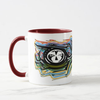 Mechanical robotics vision. mug