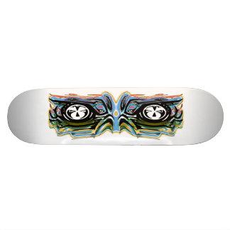 Mechanical robotics vision custom skateboard