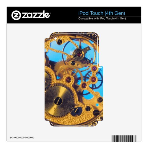 Mechanical iPod Touch 4G Skin