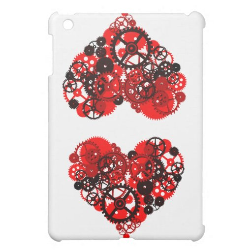 MECHANICAL STEAMPUNK HEART iPad MINI CASE