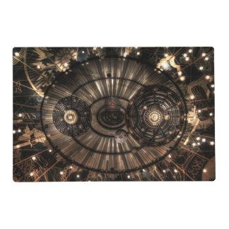 Mechanical Steampunk Zodiac Constellations Placemat
