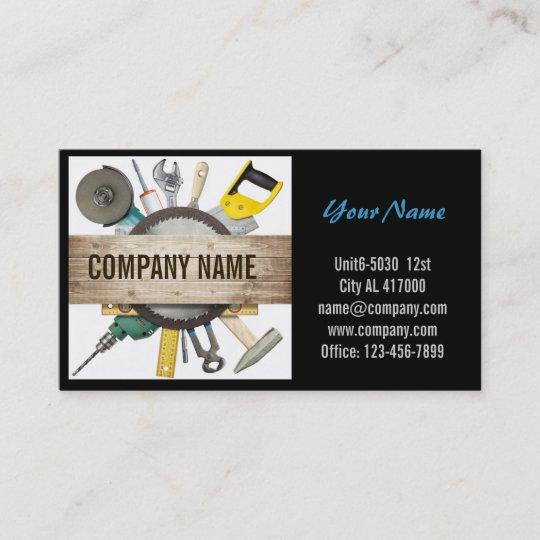 Mechanical tools handyman carpentry construction business card mechanical tools handyman carpentry construction business card colourmoves