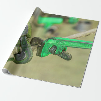 Mechanical Tools Wrapping Paper