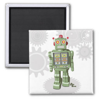 Mechanical Toy Robot Magnet