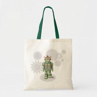 Mechanical Toy Robot Totebag Tote Bag