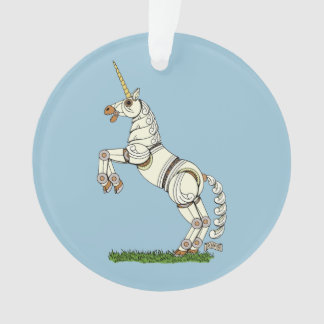 Mechanical Unicorn Ornament