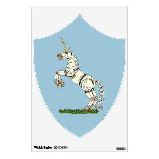 Mechanical Unicorn Wall Sticker