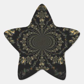 Mechanically Distorted Star Sticker