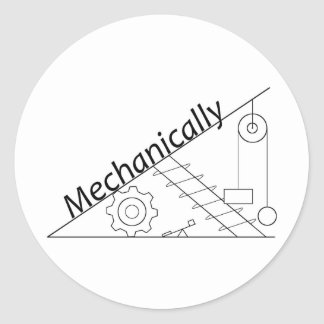 Mechanically Inclined Sticker