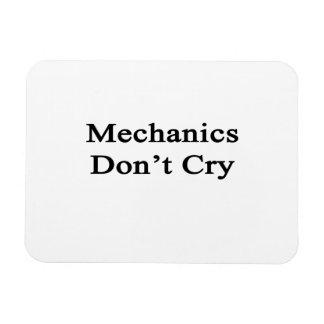 Mechanics Don t Cry Rectangle Magnets