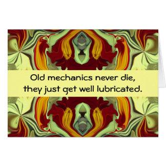 mechanics humor card