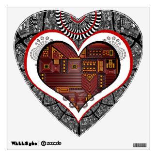 Mechanics of the Heart Wall Sticker