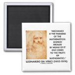 Mechanics Paradise Of Mathematical Sciences Quote Magnets