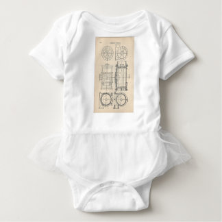 Mechanic's Pocletbook Baby Bodysuit