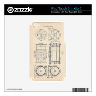 Mechanic's Pocletbook iPod Touch 4G Decal