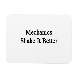 Mechanics Shake It Better Magnets