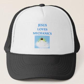 MECHANICS TRUCKER HAT