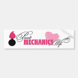 Mechanics Wife Bumper Sticker