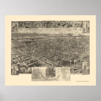 Mechanicsburg, PA Panoramic Map - 1903 Poster