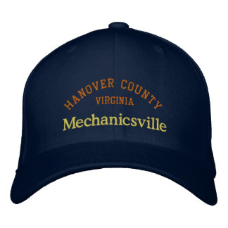Mechanicsville Hanover County Embroidered Baseball Cap