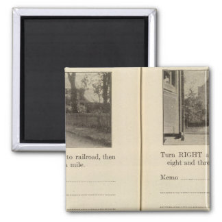 Mechanicsville Waterford 2 Inch Square Magnet