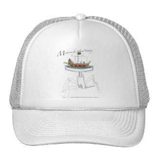 Mechanism for Island Pirating Trucker Hat