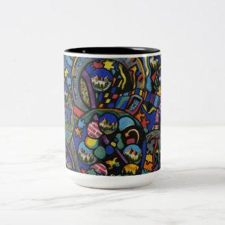 Mechanism Gift Products Line Two-Tone Coffee Mug