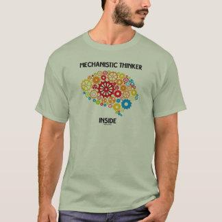 Mechanistic Thinker Inside (Gears Brain) T-Shirt