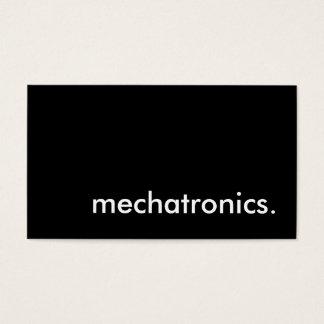 mechatronics. business card
