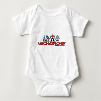 mechatrons logo baby bodysuit