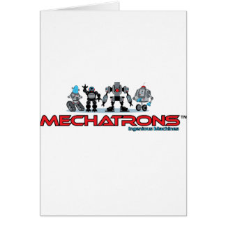 mechatrons logo card