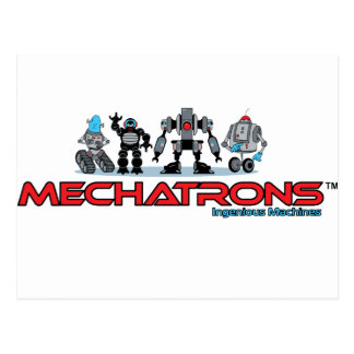 mechatrons logo postcard