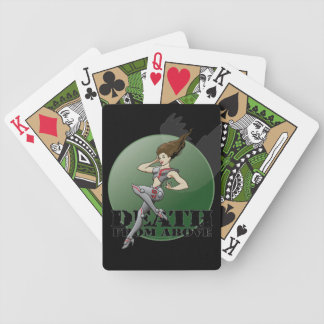 """MechCorps' """"Death From Above"""" logoed Playing Cards"""