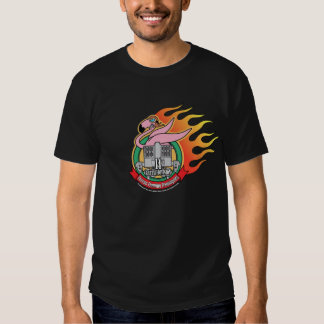 MechCorps Flaming Flamingoes Tshirt V2
