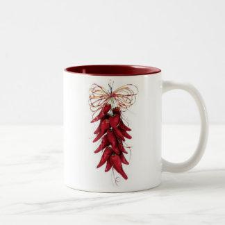 mechilipeppers Two-Tone coffee mug