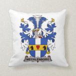 Mechlenborg Family Crest Pillow