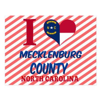 Mecklenburg County, North Carolina Postcard