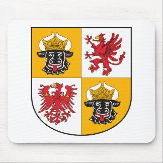 Mecklenburg Vor Pommern Coat of Arms Mousepad