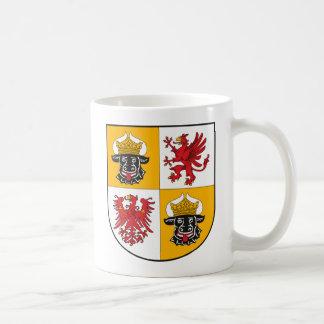 Mecklenburg Vor Pommern Coat of Arms Mug