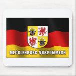Mecklenburg-Vorpommern coat of arms Mouse Pad