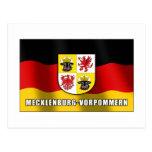 Mecklenburg-Vorpommern coat of arms Post Card