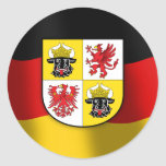 Mecklenburg-Vorpommern coat of arms Sticker