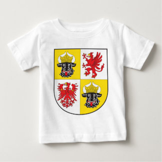 Mecklenburg-Western Pomerania coat of arms largely Baby T-Shirt