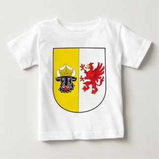 Mecklenburg-Western Pomerania coat of arms small Baby T-Shirt