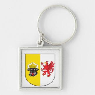 Mecklenburg-Western Pomerania coat of arms small Keychain