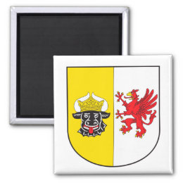 Mecklenburg-Western Pomerania coat of arms small Magnet