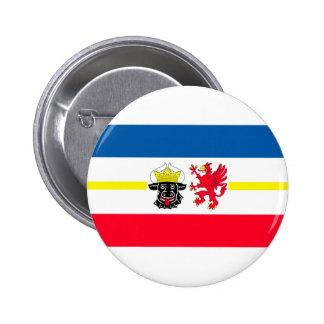 Mecklenburg-Western Pomerania flag 2 Inch Round Button